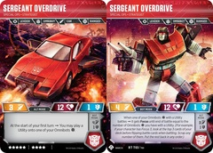 Sergeant Overdrive - Special Ops Strategist - 2019 SDCC Promo