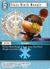 Class Ninth Moogle - 9-033C - Foil