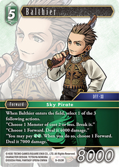 Balthier - 9-053R - Foil on Channel Fireball