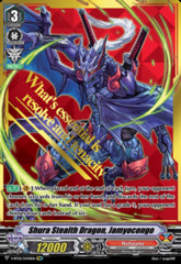Shura Stealth Dragon, Jamyocongo - V-BT05/SV04EN - SVR (Gold Hot Stamp)