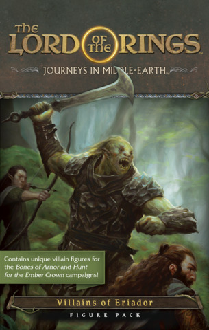 The Lord of the Rings: Journeys in Middle-Earth  Villains of Eriador Figure Pack