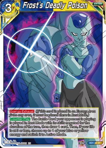 Frost's Deadly Poison - XD1-10 - ST