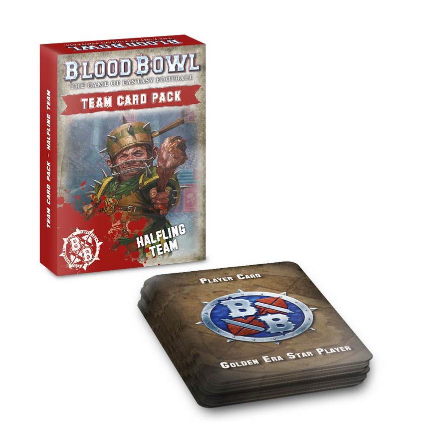 Blood Bowl Halfling Team Card Pack (Eng)