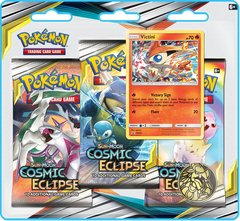 Sun & Moon - Cosmic Eclipse 3 Pack Blister - Victini