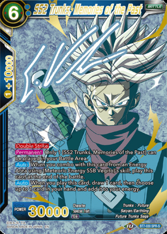 SS2 Trunks, Memories of the Past - BT7-030 - SPRS