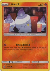 Litwick - 27/236 - Common - Reverse Holo