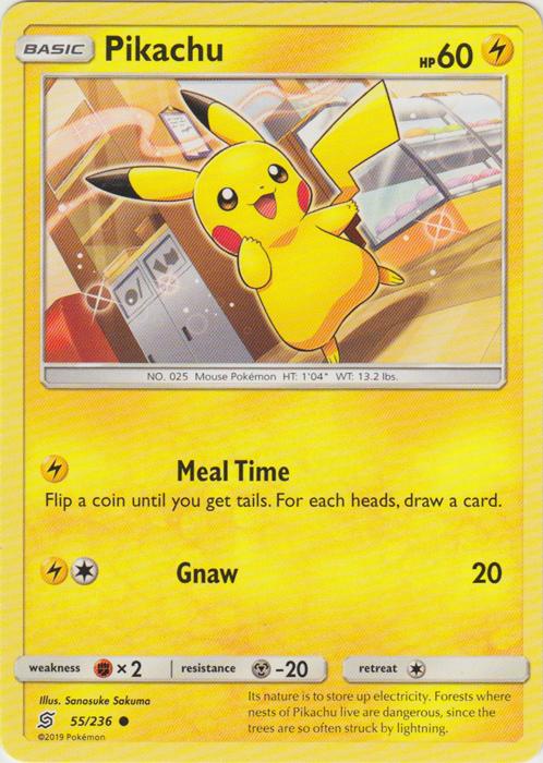 Pikachu - 55/236 - Common