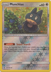 Munchlax - 173/236 - Uncommon - Reverse Holo
