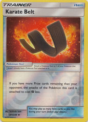 Karate Belt - 201/236 - Uncommon - Reverse Holo