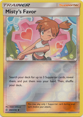 Misty's Favor - 202/236 - Uncommon - Reverse Holo
