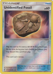 Unidentified Fossil - 210/236 - Uncommon - Reverse Holo