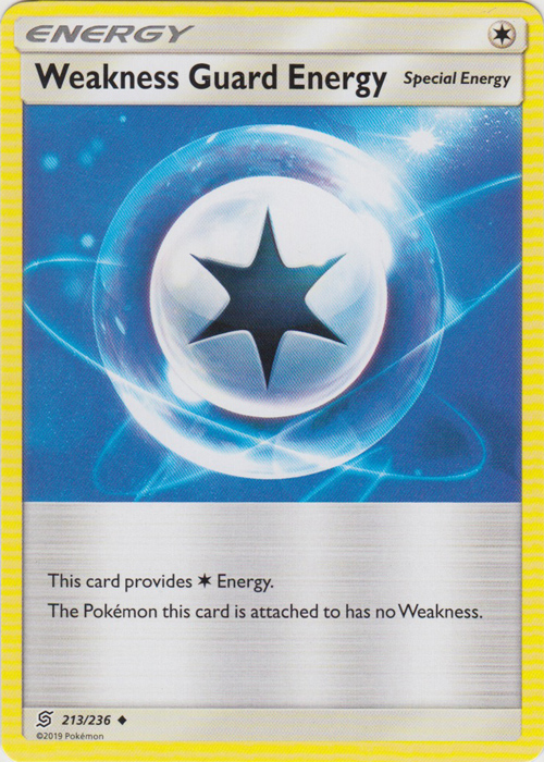 Weakness Guard Energy - 213/236 - Uncommon