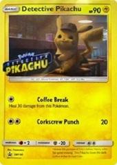 Detective Pikachu - SM190 - Stamped Blu-Ray SM Black Star Promo