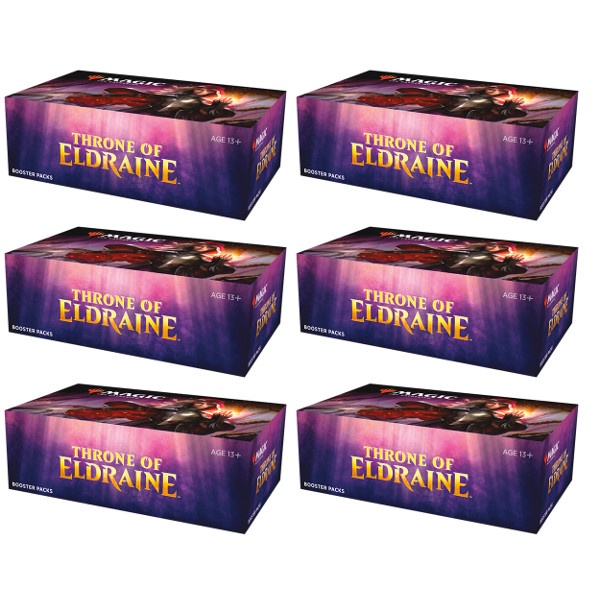 Throne of Eldraine Booster Case (6 boxes)