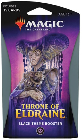 Throne of Eldraine Theme Booster - Black