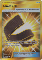 Karate Belt - 252/236 - Secret Rare