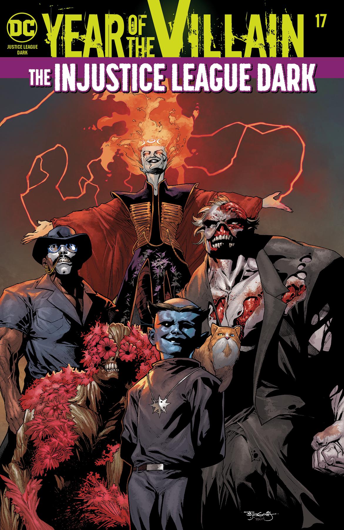 Justice League Dark #17 Yotv (STL134419)