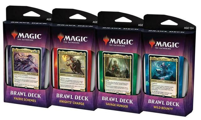Throne of Eldraine Brawl Decks Set of 4