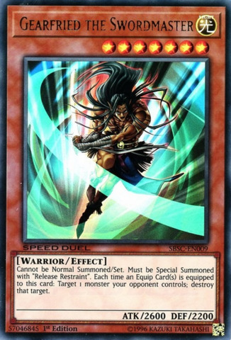 SBSC-EN020 Danipon 1st Edition Mint YuGiOh Card