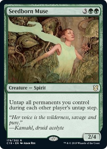 Seedborn Muse - MAGIC SINGLES » COMMANDER DECKS » Commander 2019