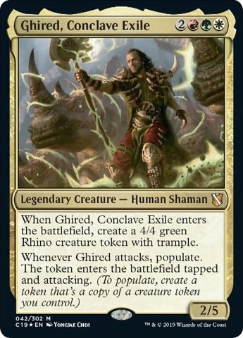 Ghired, Conclave Exile - Foil