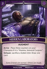 Hidden Laboratory (Stamped)