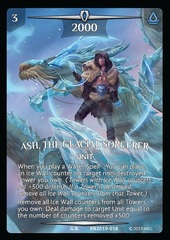 Ash, the Glacial Sorcerer (Full Art)