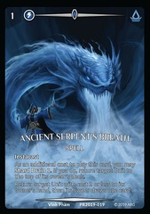 Ancient Serpent's Breath (Full Art)