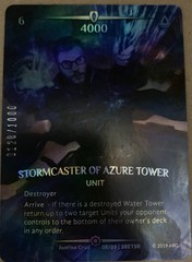 Stormcaster of Azure Tower (Serial Numbered)