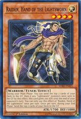 Raiden, Hand of the Lightsworn - SDRR-EN021 - Common - 1st Edition on Channel Fireball