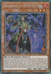 Brotherhood of the Fire Fist - Ram - FIGA-EN011 - Secret Rare - 1st Edition on Channel Fireball