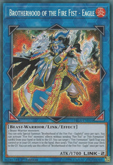 Brotherhood of the Fire Fist - Eagle - FIGA-EN016 - Secret Rare - 1st Edition