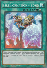 Fire Formation - Yoko - FIGA-EN030 - Super Rare - 1st Edition