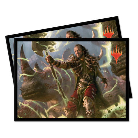 Ultra Pro - Commander 2019 - Deck Protector Sleeves V4: Ghired, Conclave Exile