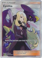 Cynthia - SV82/SV94 - Full Art Ultra Rare