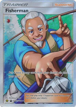 Fisherman - SV83/SV94 - Full Art Ultra Rare