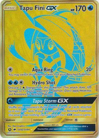 Tapu Fini GX - SV92/SV94 - Secret Rare