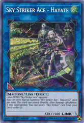 Sky Striker Ace - Hayate - MP19-EN109 - Prismatic Secret Rare - 1st Edition