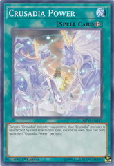 Crusadia Power - MP19-EN117 - Common - 1st Edition