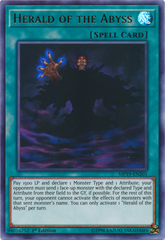 Herald of the Abyss - MP19-EN201 - Ultra Rare - 1st Edition
