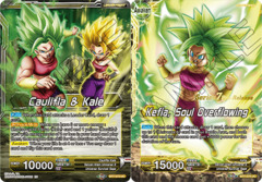 Caulifla & Kale // Kefla, Soul Overflowing - BT7-075 - UC - Pre-release (Assault of the Saiyans)