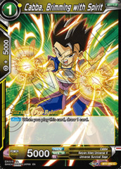 Cabba, Brimming with Spirit - BT7-082 - C - Pre-release (Assault of the Saiyans)