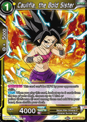 Caulifla, the Bold Sister - BT7-085 - UC - Pre-release (Assault of the Saiyans)