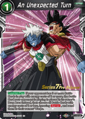 An Unexpected Turn - BT7-110 - UC - Pre-release (Assault of the Saiyans)