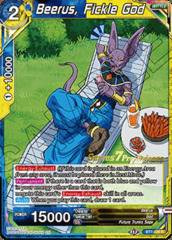 Beerus, Fickle God - BT7-120 - R - Pre-release (Assault of the Saiyans)