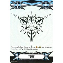 ▽ Imaginary Gift Marker [Force] Original (Silver Rainbow Emboss) - V-GM/0103EN (FOIL) [V-BT05]
