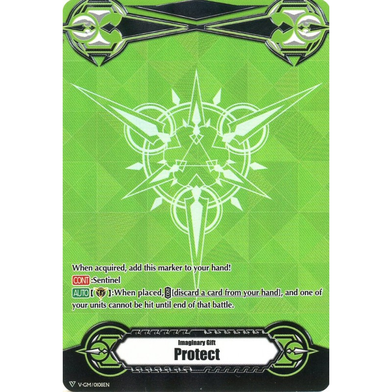 Imaginary Gift [Protect] Original (Metallic Green) - V-GM/0108EN - PR