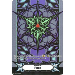 ▽ Imaginary Gift Marker [Force] Blaster Dark Themed Colors (Purple) - V-GM/0110EN (FOIL) [V-BT05]