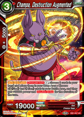 Champa, Destruction Augmented - DB1-007 - UC - Foil on Channel Fireball