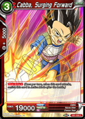 Cabba, Surging Forward - DB1-009 - C - Foil on Channel Fireball